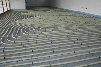 Uponor, underfloor heating, space heating