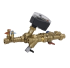 pipes, pipework, piped services, manifold, PICV, commissioning, Danfoss