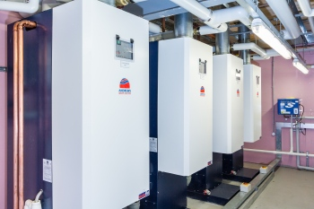 Andrews Water Heaters, DHW, hot water, Energy efficient building systems, energy efficiency