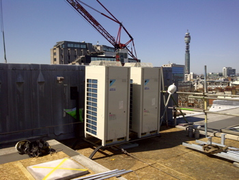 Daikin, air conditioning, heat recovery, energy recovery, Hotels, leisure