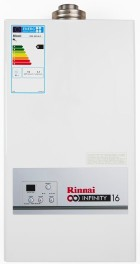 Rinnai, DHW, domestic hot water, sizing
