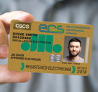 Registered Electrician, David Thomas, JIB