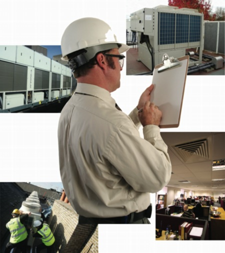 Harmonac, air conditioning, inspection